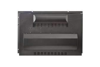 PURLINE CHE-620 Chimenea el/éctrica insertable con llama regulable y mando a distancia