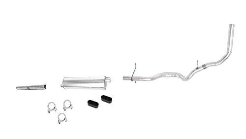 Mac Auto Parts 22341 Ford Pick Up F0 3 Inch Wheel Base 4.9L Muffler Exhaust (3 Wheel Pickup)