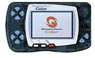 WonderSwan Color Crystal Black Handheld Console (Japanese Import Video Game System)