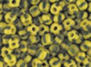 (Seed Beads 6/0 Czech Striped (a full 38 gram pack) over 400 colors available individually!, Yellow Olive Stripe)