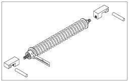 Spring Arm Spring & Guide Kit for Pelton & Crane PCK690