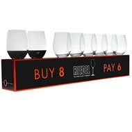 Riedel O Stemless Cabernet/Merlot Wine Glass, Set of 8