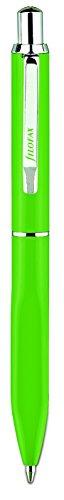 Filofax Calipso Push Button Ballpen, Green (R061091) (Best Pens For Filofax)