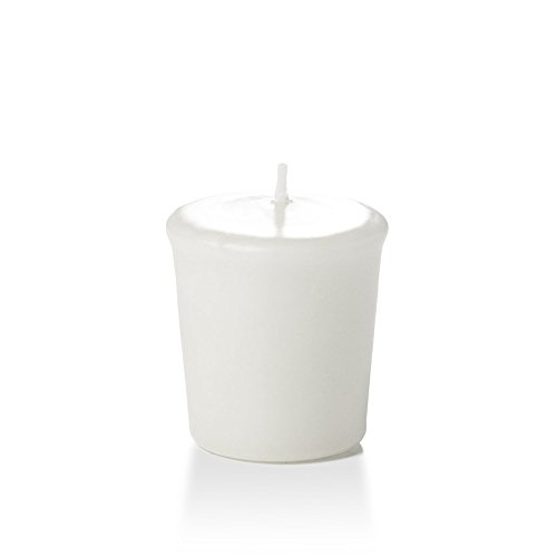 Yummi 15hr Unscented White Votive Candles - 9 per Pack