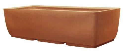 (RTS Home Accents 36-Inch Elevated Planter, Body Only, Terra Cotta Color)