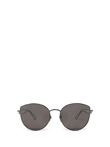 Luxury Fashion | Balenciaga Woman BB0059SK001 Grey Metal Sunglasses | Season Permanent