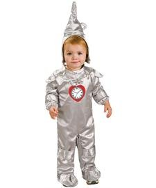 Little Boys' Tin Man Toddler Costume,Infant 1-2 (6-12 (Tin Man Baby Costume)