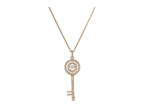 - Swarovski Crystal Sparkling Dance Key Necklace