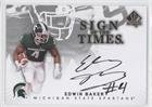 Edwin Baker (Football Card) 2012 SP Authentic - Sign of the Times #ST-ED