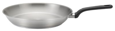 T-Fal/Wearever C9100764 Excite Fry Pan, Stainless Steel, 12-In.