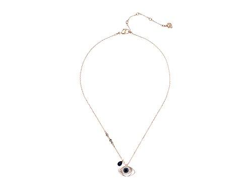 Swarovski Duo Evil Eye Pendant (Necklace Ring Swarovski)