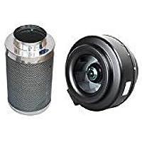 Hurricane 6 Inline Fan + Phresh 6 x 16 Carbon Filter Bundle Package