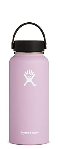 Hydro Flask W32TS680 32 oz wide mouth water bottle, 946 ml, Lilac