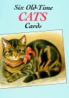 Six Old-Time Cats Postcards, Carol Belanger Grafton and Dorothy Travers Pope, 0486268187
