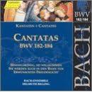 Sacred Cantatas BWV 182-184