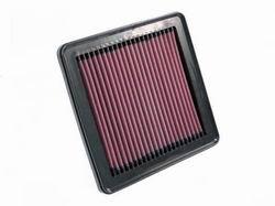 K&N ENGINEERING 33-2348 Air Filter; Panel; H-1 in.; L-7.438 in.; W-7.063 in.;