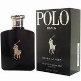 Ralph Lauren Polo Black for Men's Eau De Toilette Spray, 4.2 Ounce