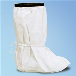 PVC Sole IsoClean Tyvek Boot Covers, XL, (Dupont Isoclean Tyvek Boot Cover)