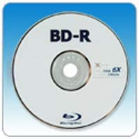 BK's BD-R (Blu-ray recordable) 25GB 6X 50-Pack - Made in Taiwan - WIJ