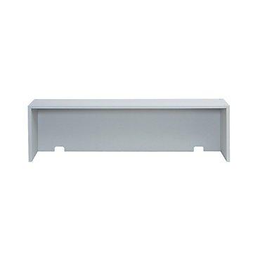 Riser Shelf for Mailroom Table - 57.5''W (Black)
