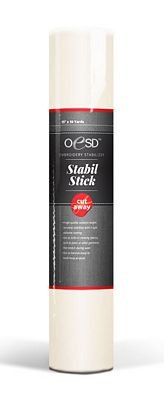 OESD Stabil-Stick Cut-Away Stabilizer, Smaller Classroom Size Roll, 10 X 3yds 10 X 3yds