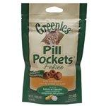 Greenies Pill Pockets Feline, Chicken Flavor 45 Treats, 6 Pack