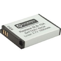 Samsung WB1100F Digital Camera Battery Lithium-Ion (3.7v, 1000mAh), Replacement for Samsung SLB10A Battery