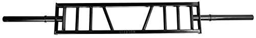 HulkFit 2-Inch Multigrip Olympic Bar Barbell Weight Lifting Bar, 1000-Pound Capacity, ()