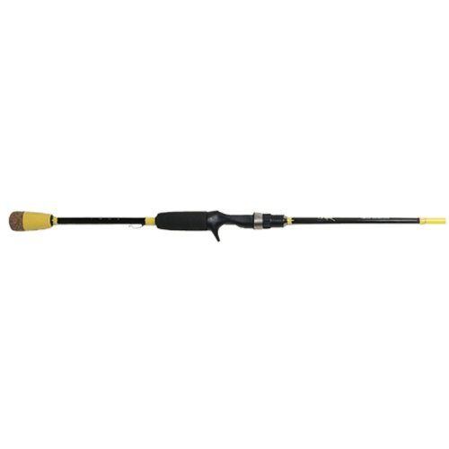 Wright & McGill Skeet Reese Micro Honeycomb Spinner Bait/Worm Rod (Yellow, 7-Feet)