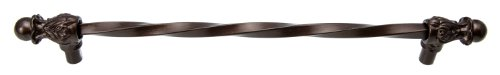 Carpe Diem Hardware 824-12 Acanthus 18-Inch O.C. Long Center Pull, Bronze -