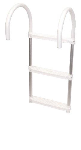 Shoreline Marine Ladder Aluminum 3 step Folding ()