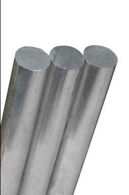 Alum Rod - Aromzen Rod RND 1/2X12 Alum