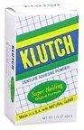 Klutch Denture Adhesive Powder Super Hold 1.75 oz (Pack of 3) by Klutch (Adhesive Denture Klutch)