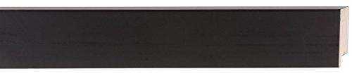 Frame Bundle - Picture Frame Moulding (Wood) 18ft bundle - Contemporary Black Finish - 2