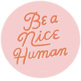 MR3Graphics Magnet BE A Nice Human xs Magnetic Car Sticker Decal Bumper Magnet Vinyl 5