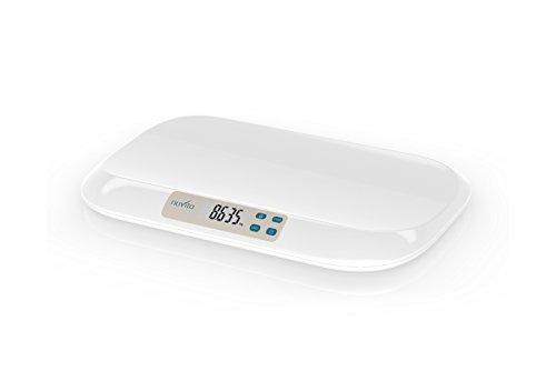 Nuvita 1310 PRIMI PESI Báscula Digital para Bebé - Balanza con Pantalla LCD y Tallimetro - Controle con Precisión el Peso del Bebé - Resultados Precisos y ...