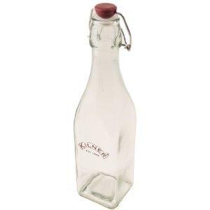 Kilner Storage Bottle - Clip Top - 550 mL - 12 pack