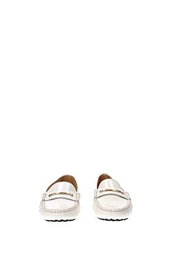 Tod's - Mocasines para mujer blanco Bianco Blanco