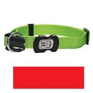 Dogit Nylon Adjustable Single Ply Dog Collar with Plastic Snap, Medium, 5/8-Inch, Black