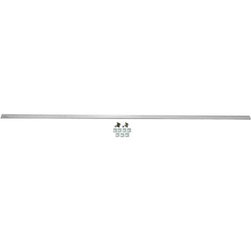 RESTOPARTS 03M599 Under Rear Window Bed Molding 1968-72 El Camino Stainless Stee