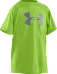"Under Armour Boys' Big Logo UA Techâ""¢ T-Shirt by Under Armour"