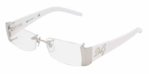 Amazon.com: D&g By Dolce & Gabbana Women\'s 5060 Silver / White Frame ...