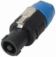 MANAX® PA Kupplung verriegelbare Lautsprecherstecker mit Clipverriegelung 2 polig - 5 Stück