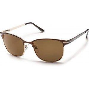 Suncloud Optics 2014 Causeway Polarized Sunglasses (Brown - BROWN POLARIZED - Eyewear Bum