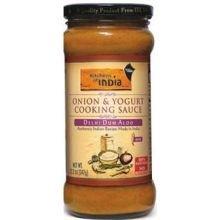UPC 841905130221, Kitchens Of India Delhi Dum Aloo - Onion and Yogurt Cooking Sauce, 12.2 Ounce -- 6 per case.