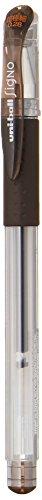 (Uni Gel Ballpoint Pen Uni-Ball Signo Ultra Fine 0.28mm Brown Black (UM15128.22))