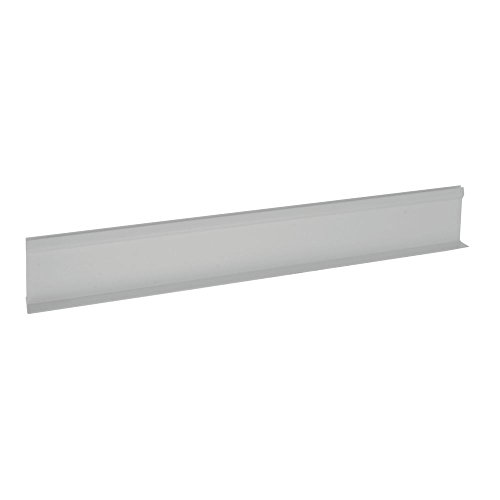 "Divider for Parsley Runner with Aluminum Support White Plastic""T"" Shape - 24""L x 3 1/2""H"