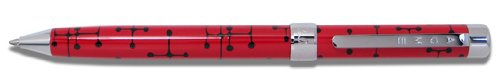 - ACME Studios Dots Red Brand X Retractable Pen by Charles & Ray Eames (P6E12)