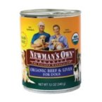 Newman's Own Grain-Free Canned Dog Food, Beef/Liver, 12 oz