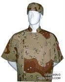 Chefskin Executive Chef Jacket Camouflage Short Sleeve - Camo Chef Coat